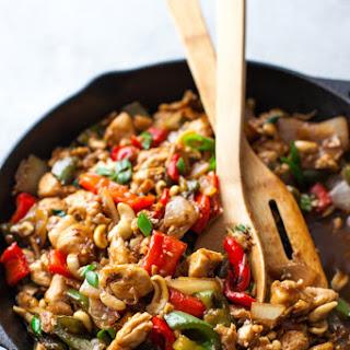20 Minute Cashew Chicken Recipe {Paleo, Gluten-Free, Clean Eating, Dairy-Free} Recipe