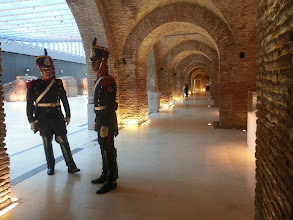 Photo: Soldiers at the Bicentenial museum