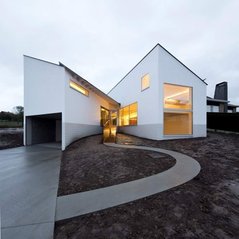 De Rijck – Casa Matthys por Atelier d'architecture Pierre Hebbelinck - Pierre de Wit
