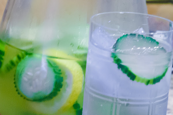 Summer Cucumber, Lemon, And Mint Spa Water Recipe