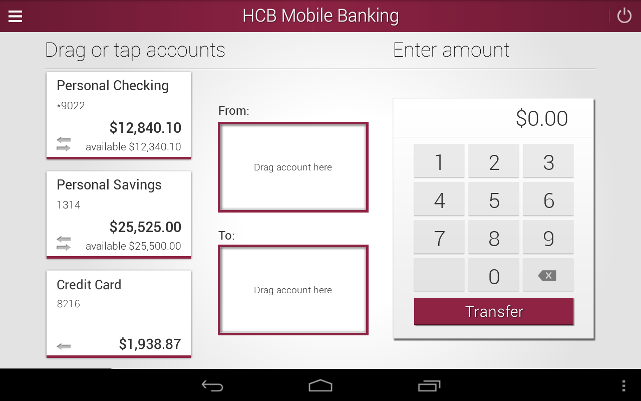 Hastings City Bank- screenshot