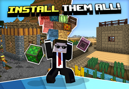 Textures for Minecraft PE for PC / Windows 7, 8, 10 / MAC