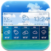 Simple Weather Forecast Widget