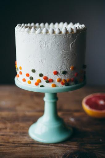 Citrus Confetti Cake