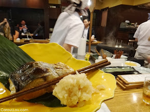 Photo: TOKYO...               #food  #photography No photos... No english menu... but Oh! this fish was a delicacy... cooked with love... and to perfection by a 'Grand Master'   http://CarouLLou.com/world-food
