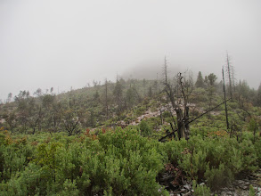 Photo: The new distance is now 33 miles due to rising water in the canyons and weather conditions going south quickly