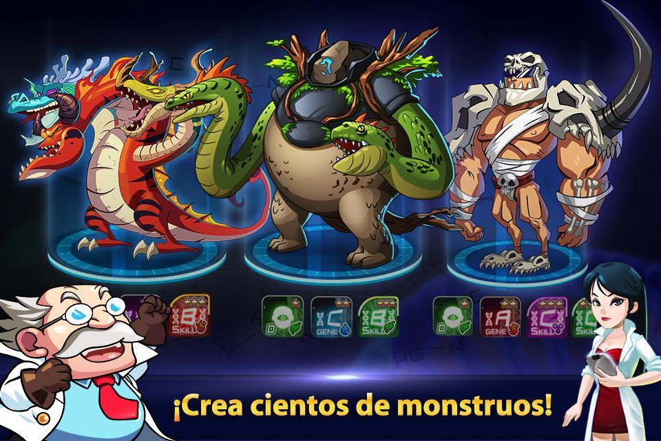 Monster Builder: Craft, Defend