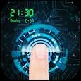High-tech Fingerprint Lock Screen (Joke) icon