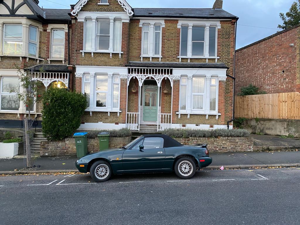 Mazda Eunos - Mx5 Mk 1 Hire London