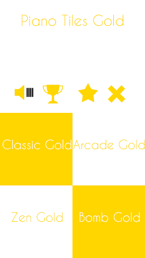 Piano Tiles Candy Gold