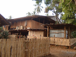 Photo: A good house in Thipogyi village (Kayin peoples settlement in Umphang)