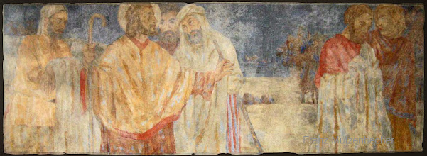 Photo: Bilder aus dem Leben Christi (Fresko)