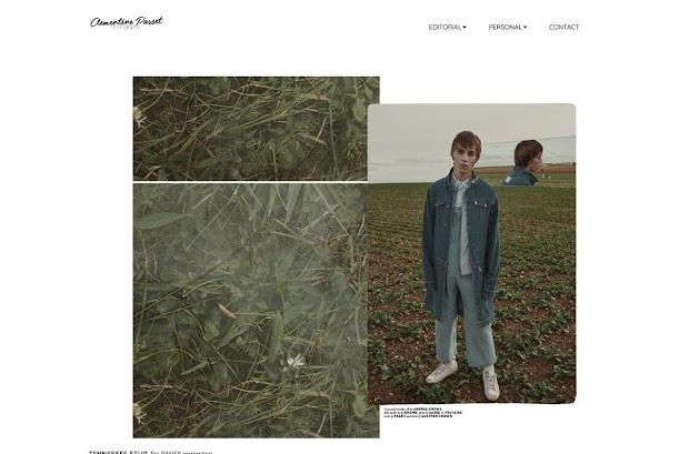 portfolio created by Clementine