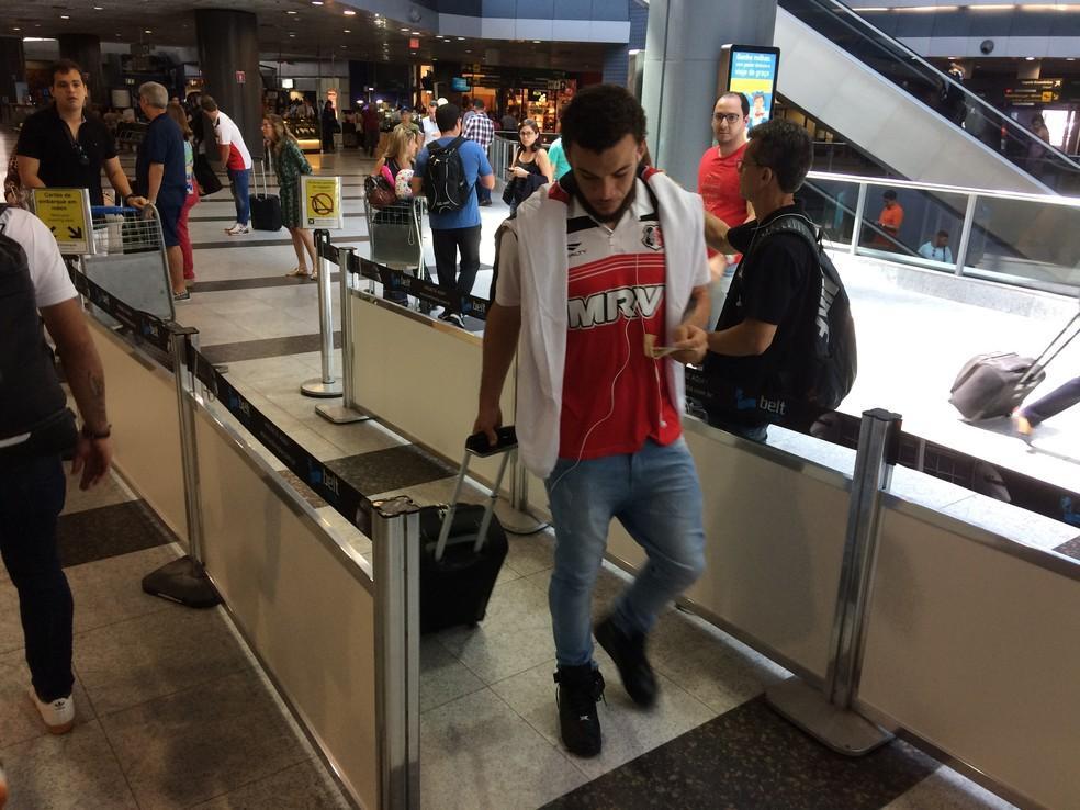 André Luís deve ser titular do Santa Cruz no sábado (Foto: Lucas Liausu)