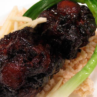 Roasted, Braised, Fried then Braised Again Oxtail - In a Word Divine.