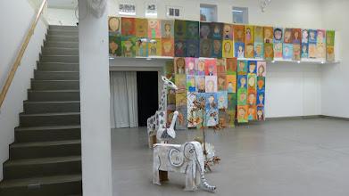 Photo: Künstlerforum Bonn; Baumwelten - Werkschau zu KinderKunstKinder 2015