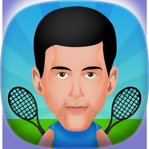 圆形的网球2人游戏 體育競技 App LOGO-硬是要APP