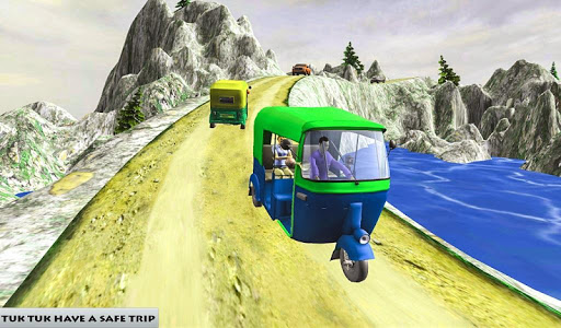 Mountain Auto Tuk Tuk Rickshaw : New Games 2020 screenshots 6