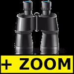 Binoculars Zoom Icon