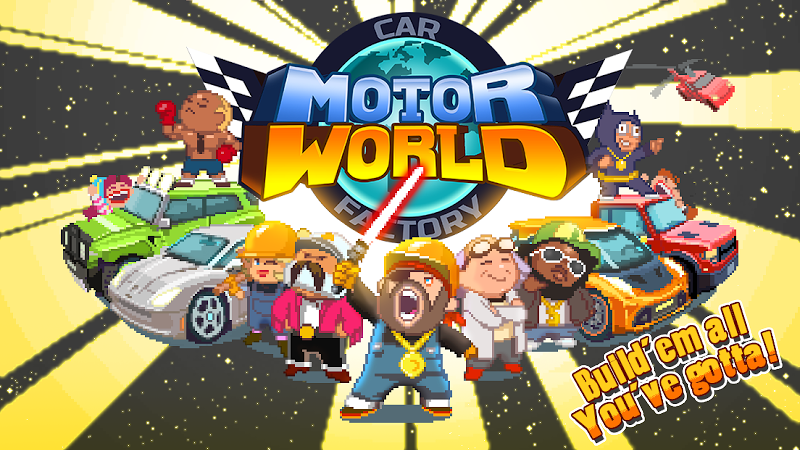 Motor World Car Factory v1.8009 (Mod)
