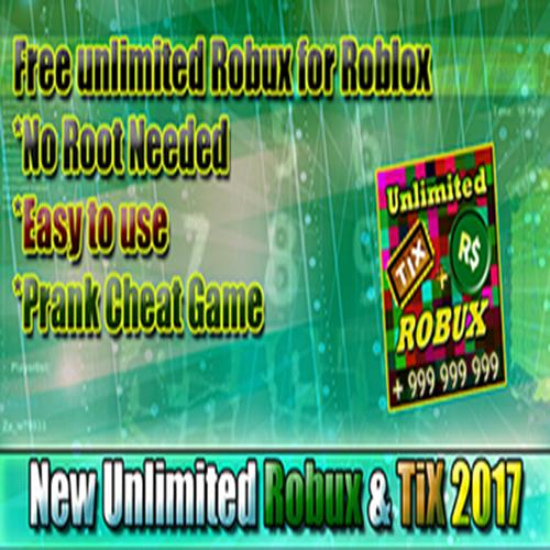 Unlimited Robux and Tix For roblox Prank