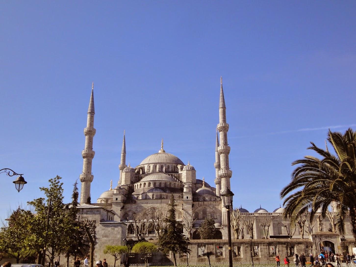 Mosquée bleue (Sultanahmet Camii)