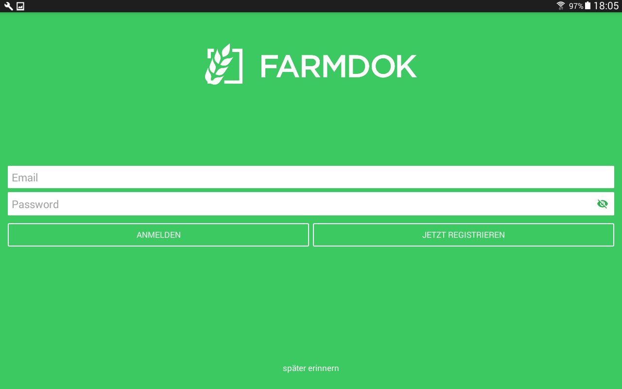 Farmdok- screenshot