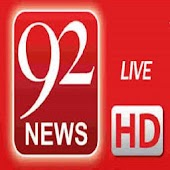 92 News Live TV - 92 News HD