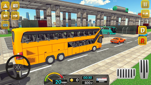 Modern City Bus Drive Parking Games-WG Bus Game 1.18 screenshots 2
