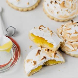 Lemon Meringue Shortbread Cookies.