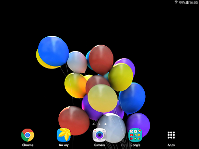 Balloons 3D Live Wallpaper screenshot 11