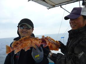 """Photo: 左側のお方は、TEAM 77の""""タケモトさん""""じゃあーりませんか! 初乗船ありがとうございます!"""