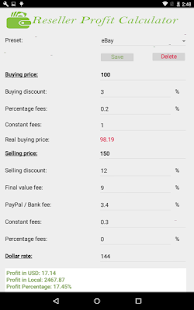 Reseller Profit Calculator- screenshot thumbnail