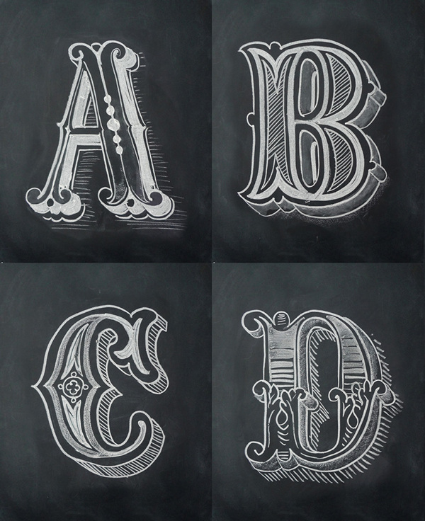 11 creative examples of typefaces and typography