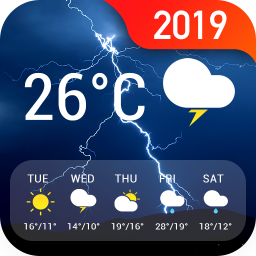 Weather Forecast App & Radar Widget