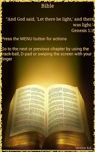 Bible Holy Bible