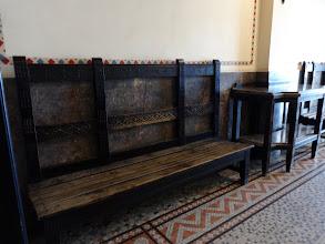 Photo: Designer waiting room furniture