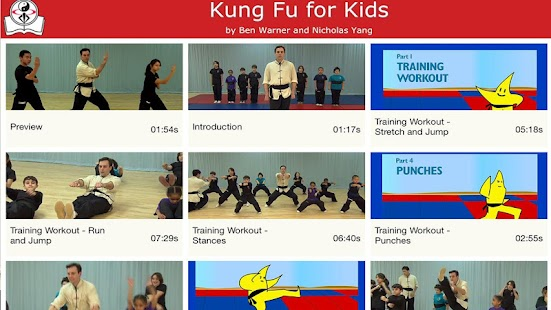 Kung Fu for Kids- screenshot thumbnail