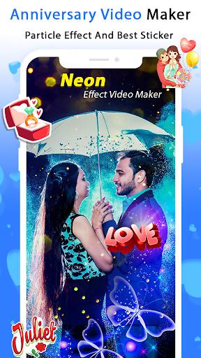 Anniversary Video Maker with Song & Music screenshot 4