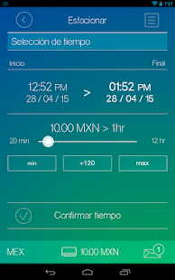 iParkME - app parquímetro screenshot