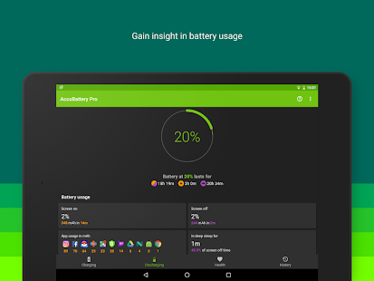 Accu​Battery- screenshot thumbnail