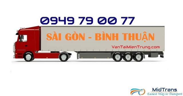 Dịch vụ vận chuyển hàng đi Bình Thuận tại Vận Tải Miền Trung