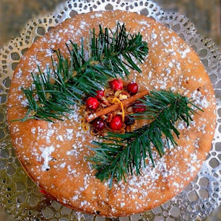 Spiced Dry Fruit Cake.