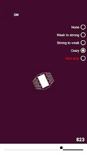 Extreme vibration app - náhled