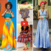 african fashion style model
