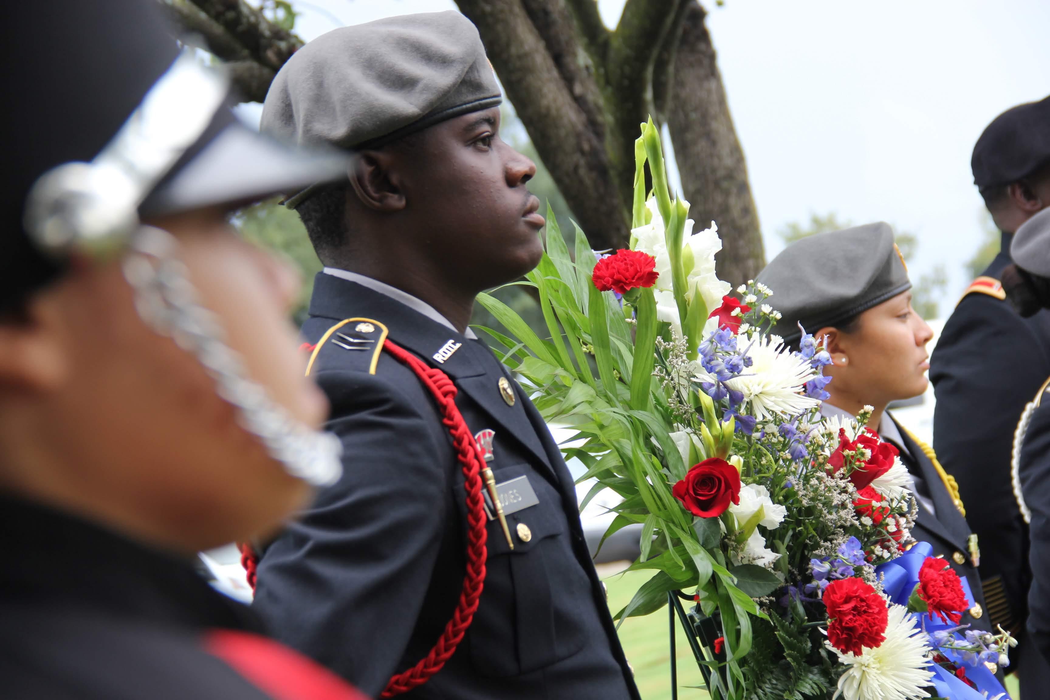 Lt. Col. Karen Wagner 9/11 Ceremony