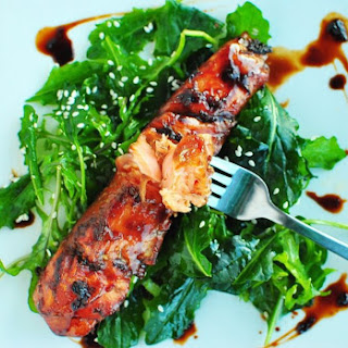 Baked Salmon With Ginger And Soy Sauce Recipes.