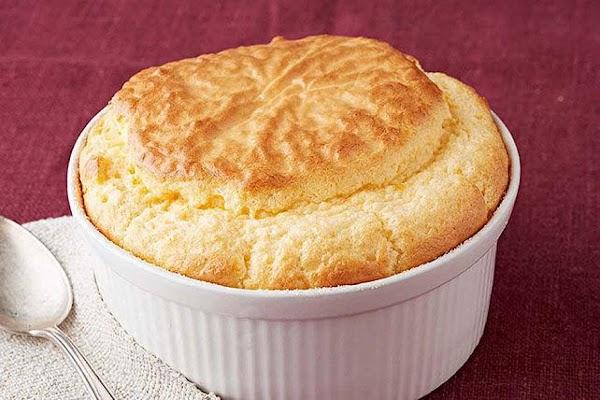 Easy Three-cheese Souffle Recipe