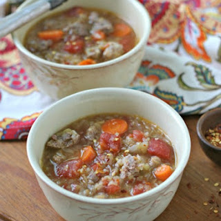Italian Sausage and Cabbage Soup