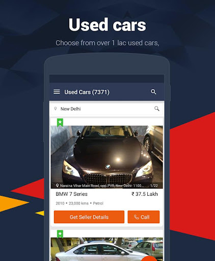 Cars India - Buy new, used car for PC